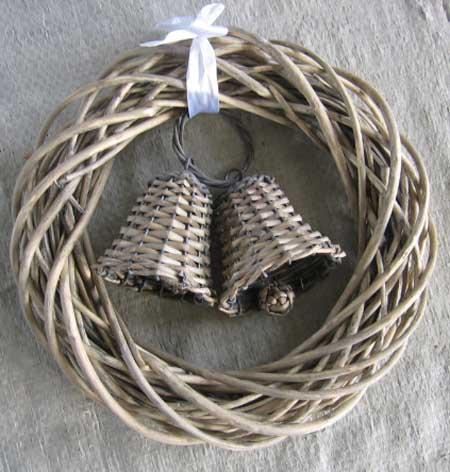 Sell Willow Flower Basket Wicker Garden Pot Planter Decoration Zinc