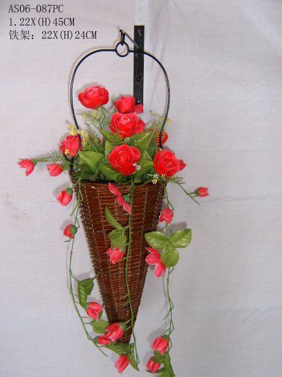 Sell Willow Flower Basket Wicker Garden Pot Planter Wood Bamboo
