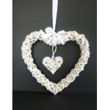 Sell Willow Weaving Heart Home Decoration Wicker Flower Basket