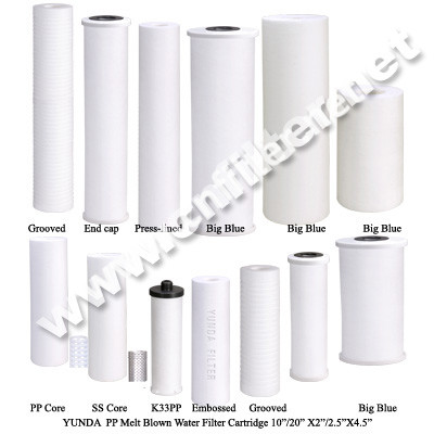 Selling Polypropylene Water Filter Cartridge Grooved
