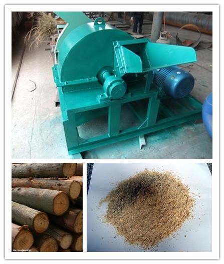 Selling Raw Wood Log Crusher 0086 15137173100