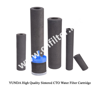Selling Sintered Carbon Block Filter Cto