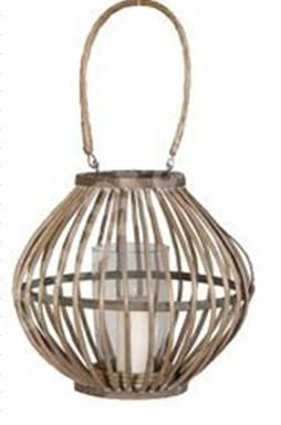 Selling Willow Flower Basket Wicker Garden Planter Pot Zinc Lanter