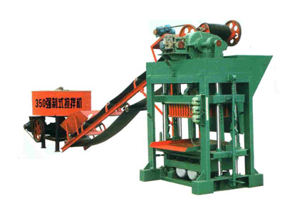 Semi Automatic Brick Making Machine From China
