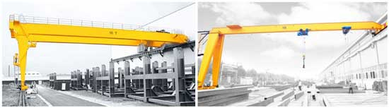 Semi Gantry Crane Is A Type