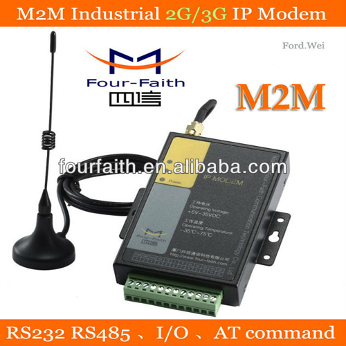 Serial Modbus Modem Gsm Industrial Gprs With Io Rs232 Rs485 For Scada