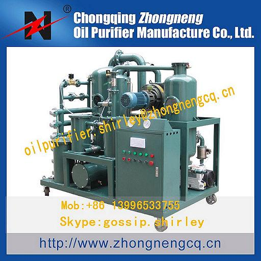 Series Zyd I Transformer Maitenance Machine Vacuum Oil Purifier For Power Station