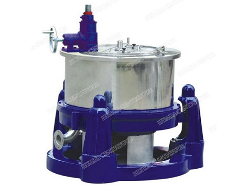 Sg Three Column Manual Bottom Discharge Scraper Centrifuges