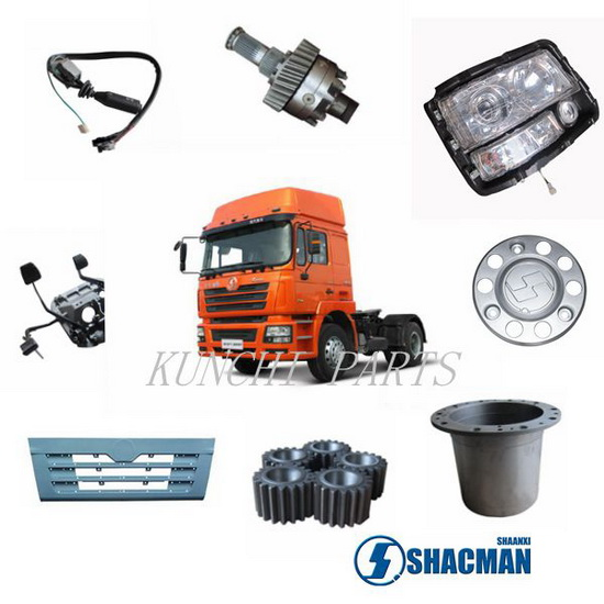 Shacman D Long Tractor Parts