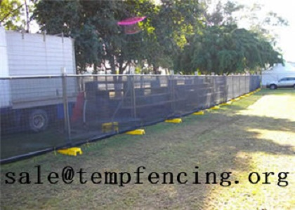 Shade Cloth For Temporary Fencing