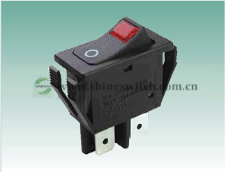 Shanghai Sinmar Electronics Rl1 8w 1 Rocker Switches 2 Tranches No Lamp 4pin Ship