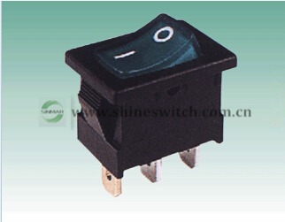 Shanghai Sinmar Electronics Rl3 3 2 Rocker Switches Tranches With Lamp 3pin Ship