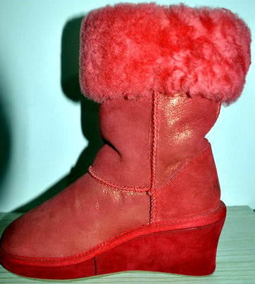 Sheepskin Snow Boots For Women Genuine Leather Colors