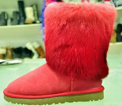 Sheepskin Snow Boots For Women