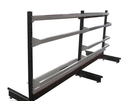 Shelving With Spread Bar