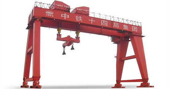 Shield Gantry Crane Is Specialized