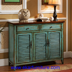 Shoe Racks Cabinets Side Cabinet Shoes Storage America Style Antique Jy 937