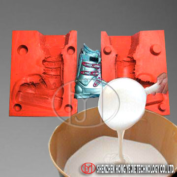 Shoe Sole Molds Making With Silicon Rubber