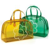 Shopping Pvc Tote Bag Transparent Handbag Custom Personalized