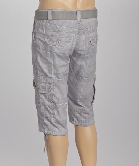 Short Belted Cargo For Mens