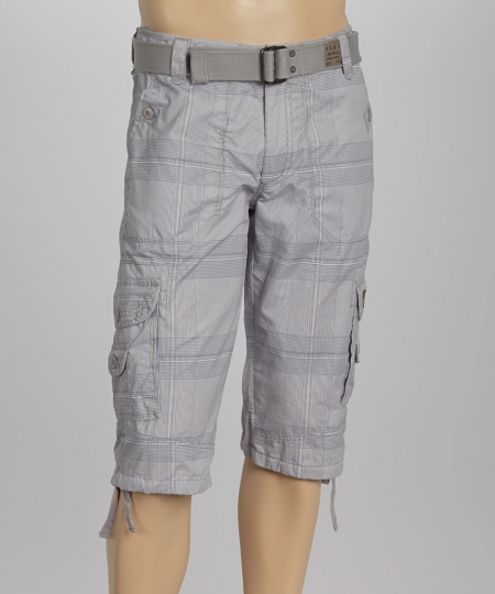 Short Belted Cargos For Mens