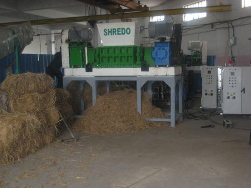 Shredo Rice Paddy Shredder