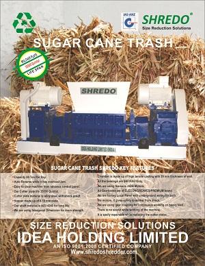 Shredo Sugarcane Trash Shredder