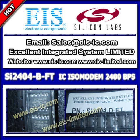 Si2404 B Ft Silicon Ic Correction System Side 24tssop