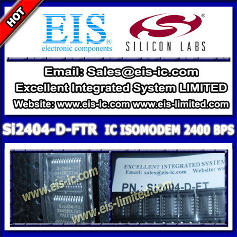 Si2404 D Ftr Silicon Ic Correction System Side 24tssop