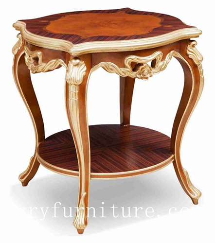 Side Tabe Wood Table End Square Corner Classical Company Fc 128b