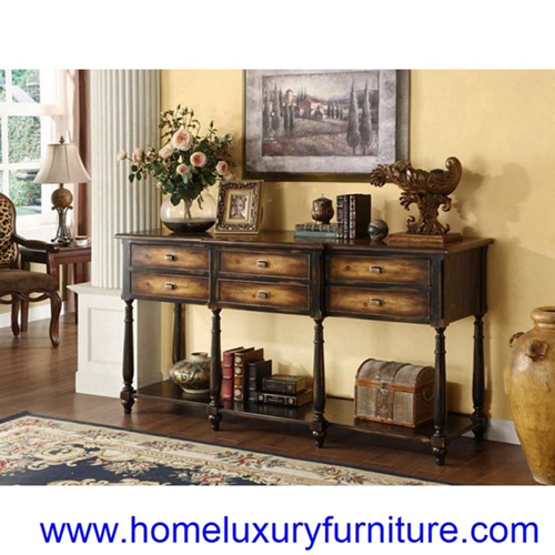 Side Table Sofa Console Corner Living Room Jx 0958