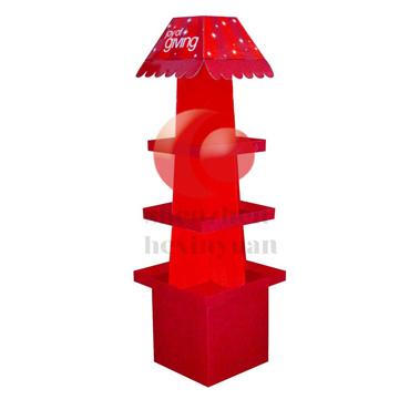 Sidewing Pop Cardboard Display
