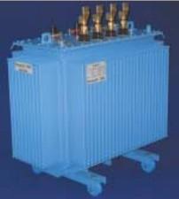 Siemens 4jl5844 3za29 Three Phase Oil Immersed Distribution Transformer