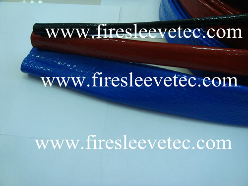 Silicone Coated Knitted Glass Fibre Sleeve