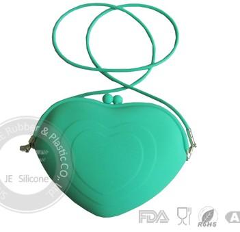 Silicone Coin Purse Fashion Shopping Handbags For Woman