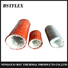 Silicone Fiberglass Knitted Fire Sleeve