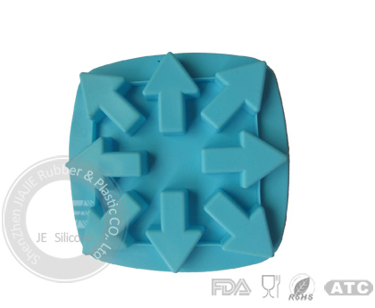 Silicone Ice Cube Tray Factory Rose Cupcake Mold Price Manufacture Wholesale Is