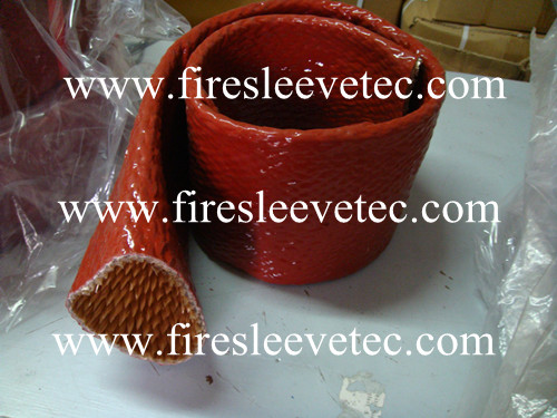 Silicone Rubber Extruded Fiberglass Sleeving