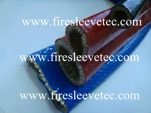 Silicone Rubber Glass Fiber High Temperature Resistant Heat Sleeve