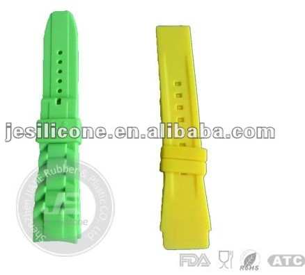 Silicone Slap Band Watch Rubber Strap Geneva Jelly Sport Watches Price Manufacture