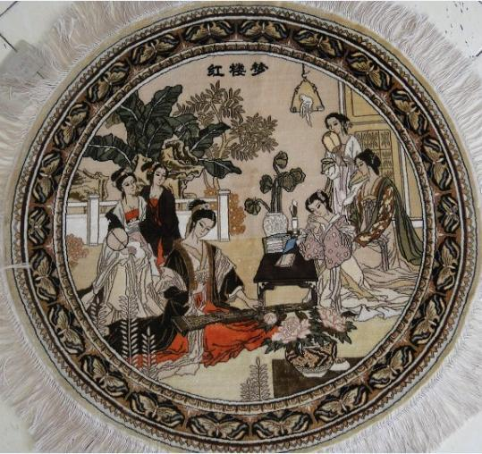 Silk Carpet By Handmade 4