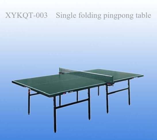 Single Folding Pingpong Table