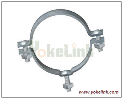Single Offset Pole Band Secondary Rack Mounting Bands