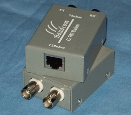 Single Port G 703 E1 Balun Adapter