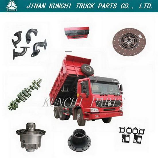 Sinotruk Howo Dump Truck Parts