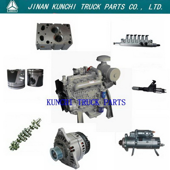 Sinotruk Howo Truck Engine Parts