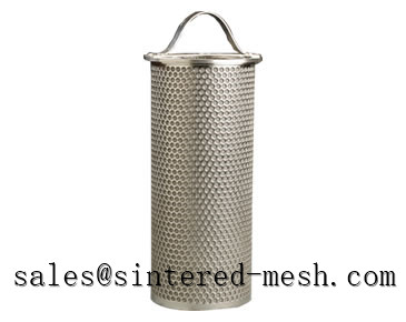 Sintered Mesh With Perforated Metal