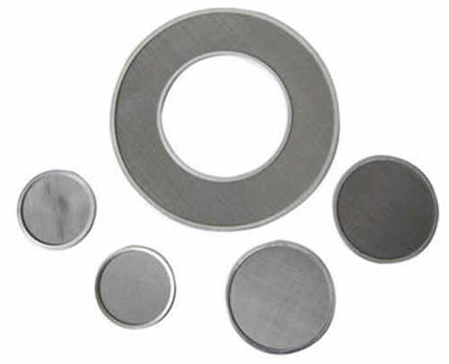 Sintered Wire Mesh Filter Disc Plate And Leaf Filters