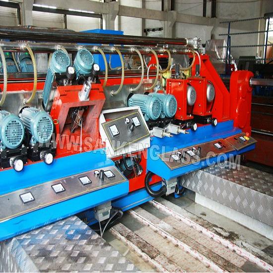 Skde 2520b 20 Motors Straight Line Glass Double Edging Machine
