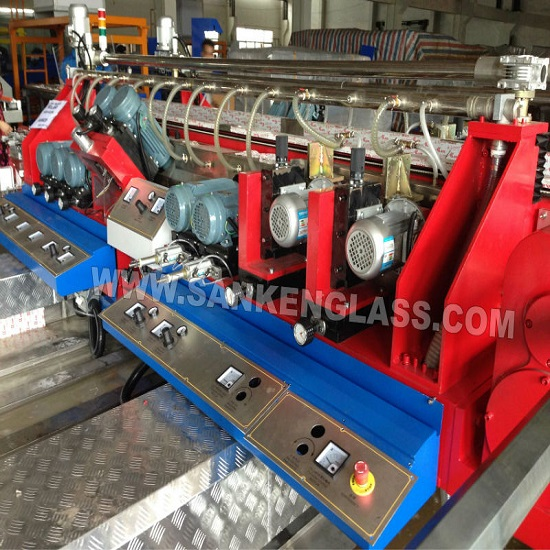 Skde 4020a Flat Edging Glass Double Edge Grinding Machine